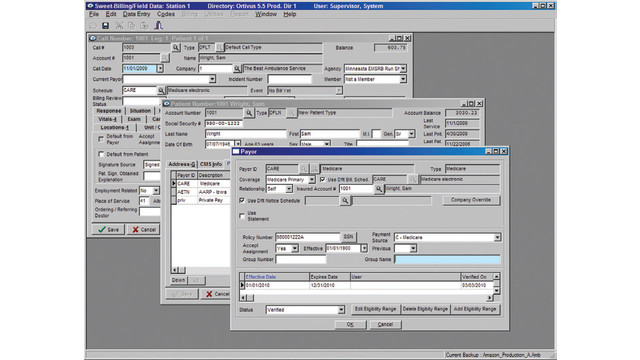 EMS Sweet-Billing Software and Services