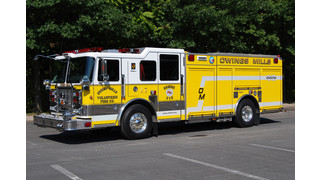 Innovative Rigs on the Street: Owings Mills' All-Hazard Engine