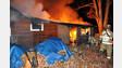 N.J. Crews Hit House Fire