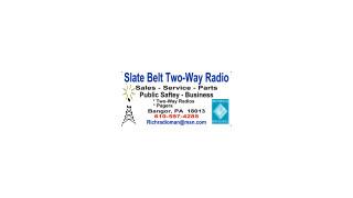 SLATE BELT TWO-WAY RADIO
