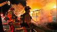 Massive Fire Engulfs Georgia Apartment Complex