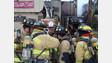 Texas Firefighters Battle Apartment Blaze