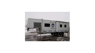 Edwards Air Force Base Mobile Command Trailer