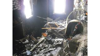 Danger at a Residential Basement Fire