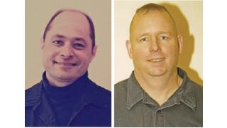 Chicago, Ill. Firefighters Robert Mansfield and Chris Reischl
