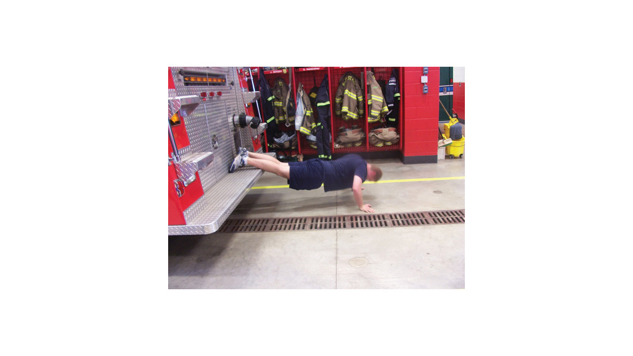The biggest loser firefighter style firehouse - The fireman pole apartment an incendiary design ...