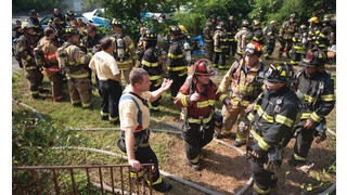 Expo Training Stuck With N.Y. Firefighter