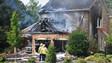Garage Burns in Virginia