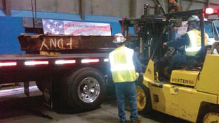 The 9/11 Memorial Steel Program