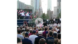 Families of 9/11 Victims Attend WTC Memorial