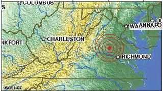 INCIDENT REPORT: Earthquake Rocks Virginia