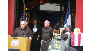 FDNY Chaplain's Gear Dedicated at Fire Museum