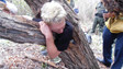 Calif. Crews Free Man Trapped in Hollow Tree