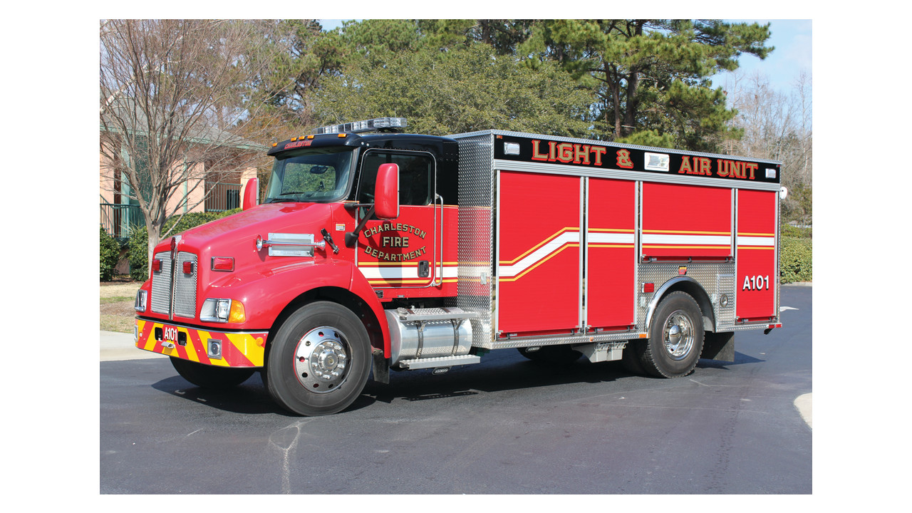 Fire Equipment Services Light And Air Unit Firehouse