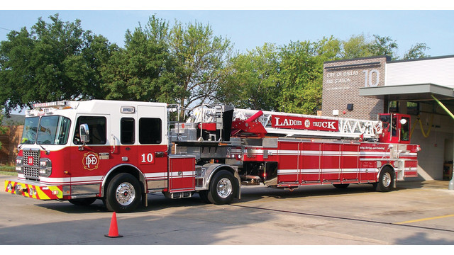 Dallas Fire Department - Spartan ERV 100' TDA