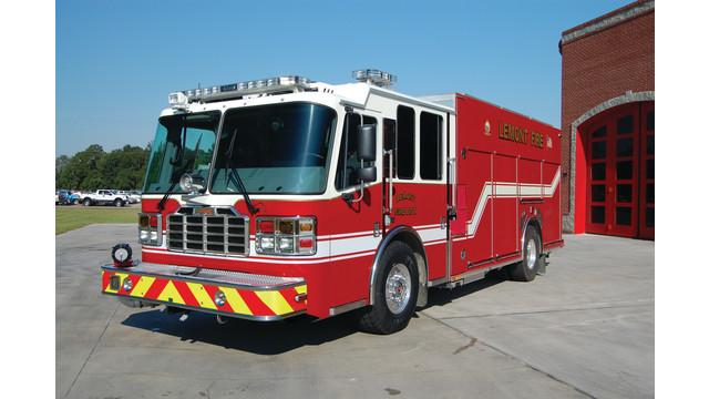 Ferrara MVP Custom Rescue Pumper