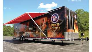 BullEx Fire Safety Trailer