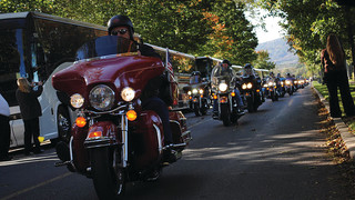 Motorcycle Ride Honors Fallen Firefighters