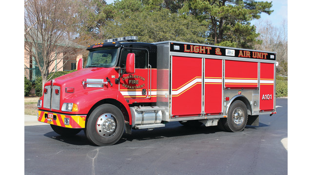 Fire Equipment Services Light-and-Air Unit