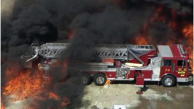 Texas Chief: Crew Relied on Training as Flames Neared