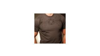 Black Helmet Firefighter Prayer T-Shirt