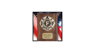 Liberty Art Works - IAFF Plaque