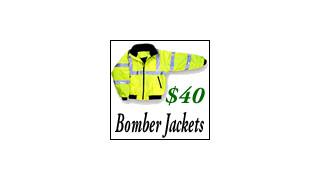 New Fleece Lined Bomber Jacket