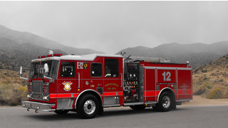 Seagrave Delivers Pumper to Albuquerque Fire Department