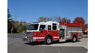 Pierce Delivers Velocity Pumper to Scullville FD