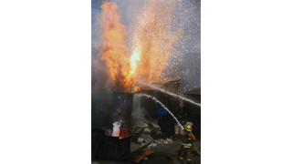 OTJ Calif sidebar: Explosions & Heavy Fire at Facility Processing Titanium and Super Alloy Scrap
