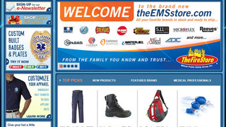 theEMSstore.com Goes Live