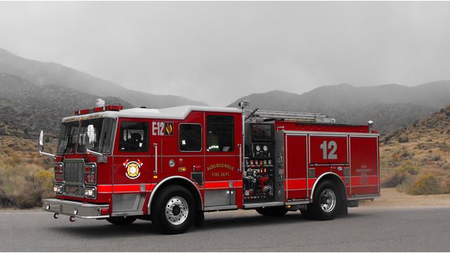 Seagrave Delivers Pumper to Albuquerque Fire Department