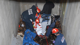 TECH RESCUE: NJ Technical Rescue Team Pulls Injured Man from Shaft