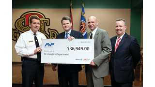 St. Louis Fire Department Receives $37,000 Grant