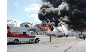 On The Job Indiana: Three-Alarm Fire Destroys Vacant Lowell Factory