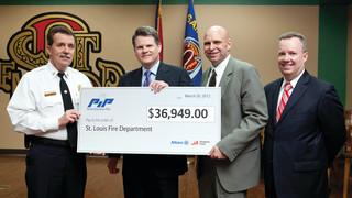 St. Louis Fire Department Receives $37,000 Grant