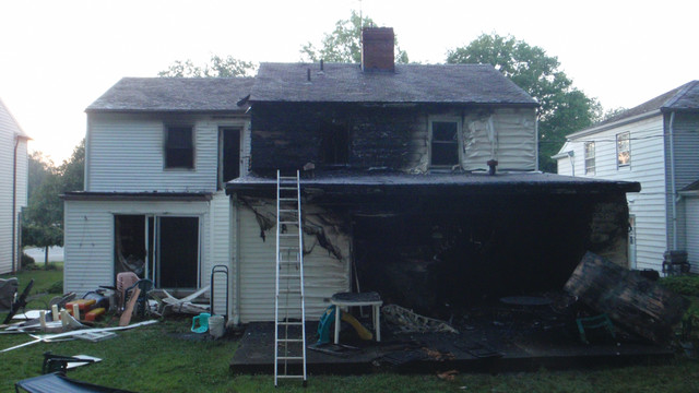 Close Calls: Firefighter Seriously Burned While Attempting Searches