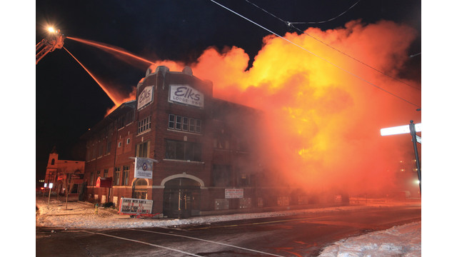 Two-Alarm Fire Destroys Historic Lodge in North Tonawanda