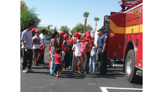 Children & Firefighters: How to Interact on a Visit
