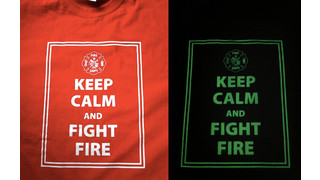 "MN8-Foxfire Introduces Illuminating ""Keep Calm and Fight Fire"" T-Shirts"