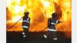 Tower Ladder Extinguishes Detroit Blaze