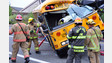 Oregon Crews Extricate School Bus Driver After Crash