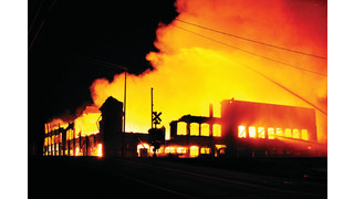 On The Job Tennessee: Multi-Alarm Fire Destroys Vacant Furniture Factory