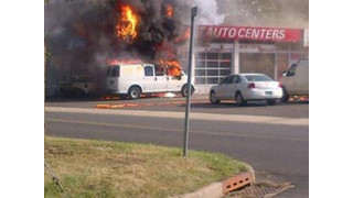 Fighting Fires in Vehicle Service Facilities