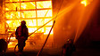 Two-alarm Fire Guts Business in Ontario, Canada