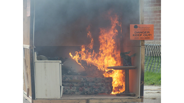 lansing-michigan-fire-prevention-open-house-burn-cell-2.JPG