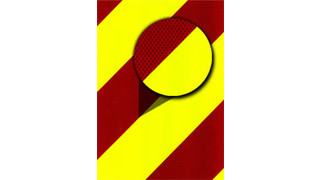 Reflective Chevron safety decals