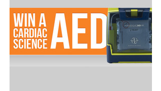 Cardiac Science, Firehouse and Officer.com Partner to Give Away 10 AEDs