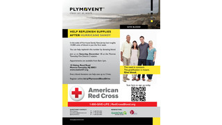 Plymovent Community Blood Drive in the Wake of Hurricane Sandy