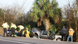 Fla. Collision Sends Pickup into Trees